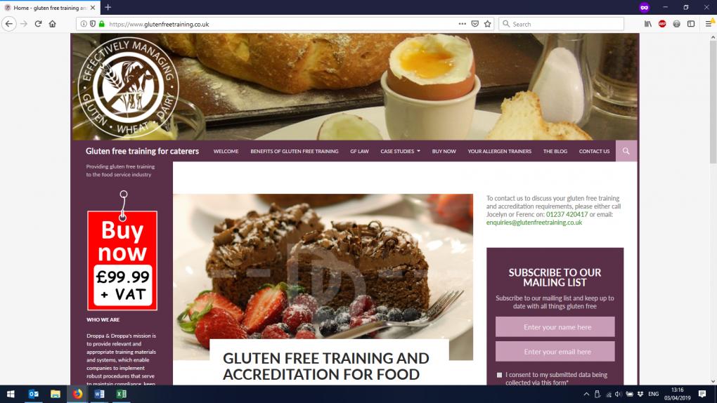 An example of a WordPress website we built