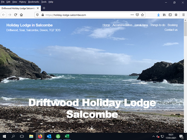 Driftwood Holiday Lodge Salcombe is one of our featured websites
